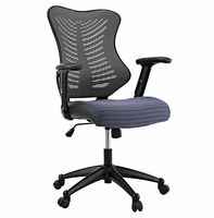 Clutch Office Chair, Gray [FREE SHIPPING]