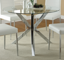 COASTER 120760 DINING TABLE GLASS TOP