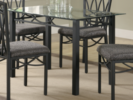 Coaster Furniture 120781 - Dining Table (Deep Black)