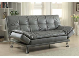 COASTER 300281/91/321/500096 SOFA BED BLACK/WHITE/GREY/OR BROWN