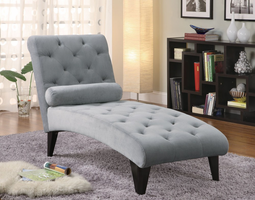 Coaster Furniture 550067 - Chaise (Grey)