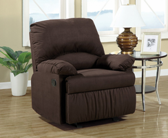 Coaster Furniture 600266G - Glider Recliner (Chocolate)