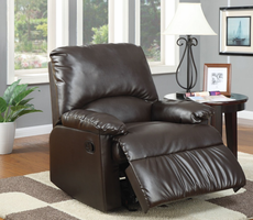 Coaster Furniture 600270 - Glider Recliner (Brown)