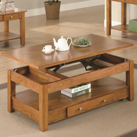 Coaster Furniture 701438 - Coffee Table (Oak)