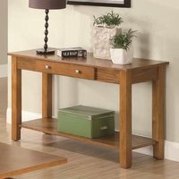 Coaster Furniture 701439 - Sofa Table (Oak)