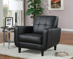 Coaster Furniture 900204 - Accent Chair (Black)