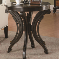 Coaster Furniture 900902 - Accent Table (Rubbed Through Black)