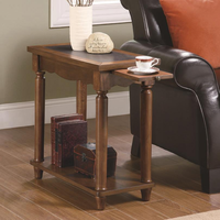 Coaster Furniture 900973 - Chairside Table (Warm Brown)