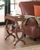 Coaster Furniture 900974 - Chairside Table (Warm Brown)