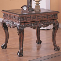 Coaster Furniture 5098 - End Table (Dark Brown)