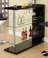 Coaster Furniture 100165 - Bar Table (Black)