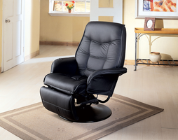 Coaster Furniture 7501 - Recliner (Black)