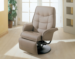 Coaster Furniture 7502 - Recliner (Beige) Free Delivery
