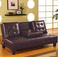 Coaster Furniture 300153 - Sofa Bed (Dark Brown)