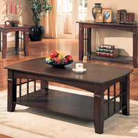 Coaster Furniture 700008 - Coffee Table (Cherry)