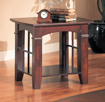 Coaster Furniture 700007 - End Table (Cherry)