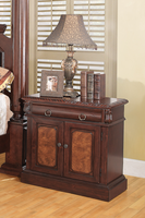 Coaster Furniture 202202 - Grand Prado Night Stand (Brown Cherry)