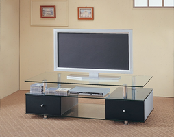 Coaster Furniture 720081 - TV Console (Black)