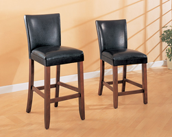 "Coaster Furniture 100357 - 24""H Counter Height Stool (Cherry) - Set of 2"