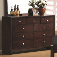 Coaster Furniture 201973 - Serenity Dresser (Rich Merlot)