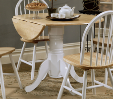 Coaster Furniture 4241 - Table (Natural/White)