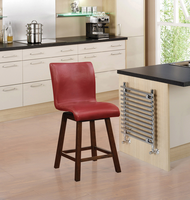 """Coaster Furniture - 100214 - 24""""H COUNTER HEIGHT STOOL (RED)"""