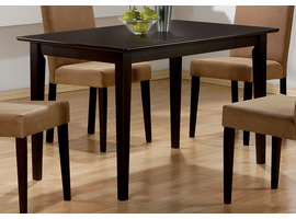Coaster Furniture 100491 - Dining Table (Cappuccino)