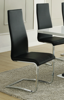 Coaster Furniture - 100515BLK - CHAIR (BLACK) Set of 4 Free Delivery