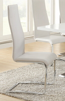 Coaster Furniture - 100515WHT - CHAIR (WHITE) Set of 4 Free Delivery