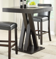 Coaster Furniture 100520 - Bar Table (Cappuccino)