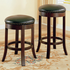 "Coaster Furniture 101059 - 24""H Bar Stool (Cherry) - Set of 2"