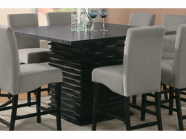Coaster Furniture 102068 - Stanton Counter Height Table (Black)