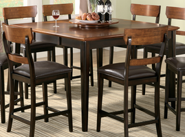 Coaster Furniture 102198 - Counter Height Table (Oak Brown)