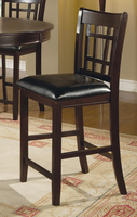 Coaster Furniture 102889 - Counter Height Stool (Cappuccino) - Set of 2
