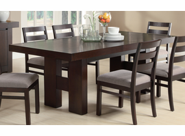 Coaster Furniture 103101 - Dabny Dining Table (Cappuccino)