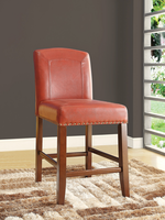 Coaster Furniture - 104185 - COUNTER HEIGHT STOOL (RED)