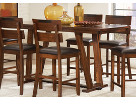 Coaster Furniture - 105018 - COUNTER HEIGHT TABLE (DARK AMBER/COFFEE BEAN)