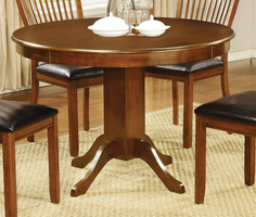 Coaster Furniture - 105740 - DINING TABLE (AMBER)
