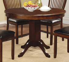 Coaster Furniture - 105750 - DINING TABLE (REDDISH BROWN)