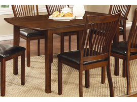 Coaster Furniture - 105751 - DINING TABLE (REDDISH BROWN)
