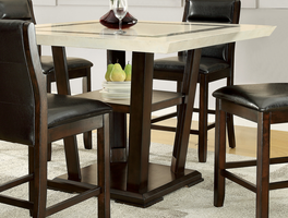 Coaster Furniture - 105848 - COUNTER HEIGHT TABLE (CAPPUCCINO)