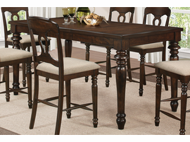 Coaster Furniture - 106358 - COUNTER HEIGHT TABLE (ANTIQUE BROWN)