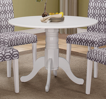 Coaster Furniture - 106641 - DINING TABLE (WHITE)