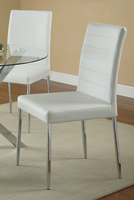 Coaster Furniture - 120767WHT - SIDE CHAIR (WHITE)