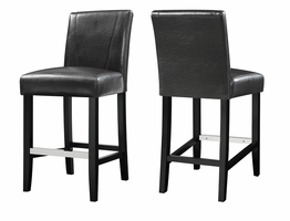 Coaster Furniture - 130064 - COUNTER HEIGHT STOOL (BLACK)