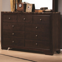 Coaster Furniture 200423 - Conner Dresser (Dark Walnut)