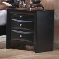 Coaster Furniture 200702 - Briana Night Stand (Black)