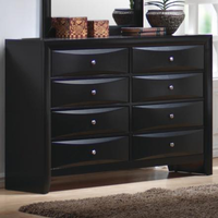 Coaster Furniture 200703 - Briana Dresser (Black)