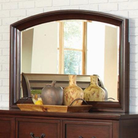 Coaster Furniture 200834 - Hannah Mirror (Brown Cherry)