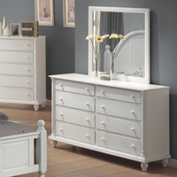 Coaster Furniture 201183 - Kayla Dresser (Distressed White)